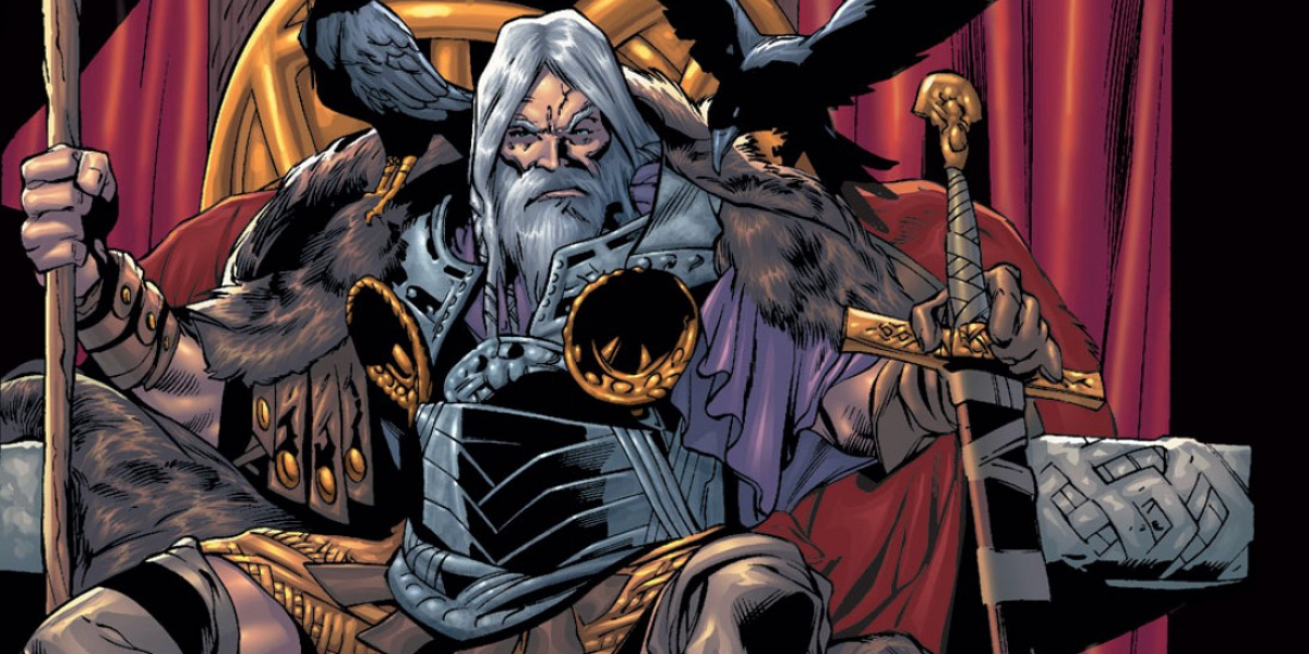 Thor Odin Marvel Comics