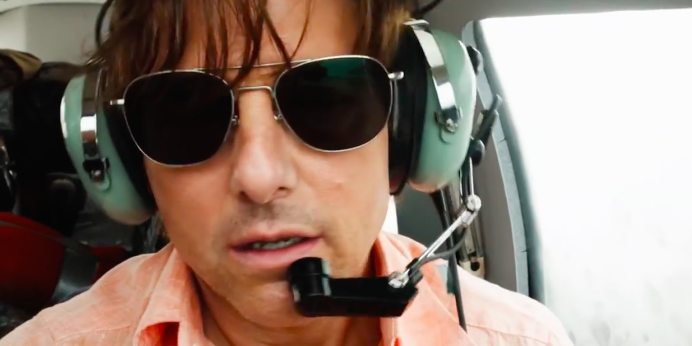 Tom Cruise as Barry Seal in American Made