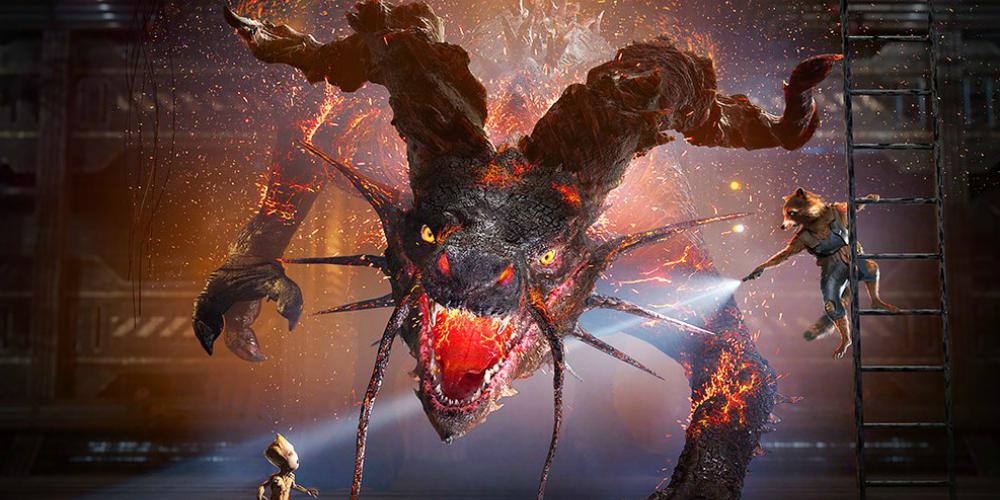Surtur's Fire Dragon From Thor: Ragnarok