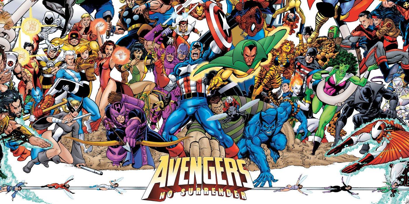 The Avengers: Marvel's No Surrender Trailer Brings Avengers Series Together