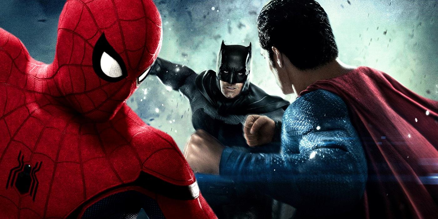 spider man superman - photo #27