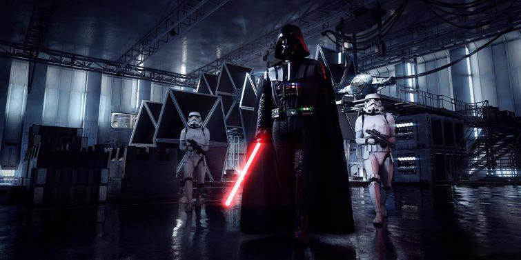 Darth Vader Star Wars Battlefront 2