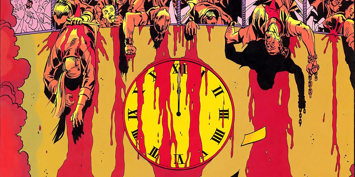 Doomsday Clock Watchmen