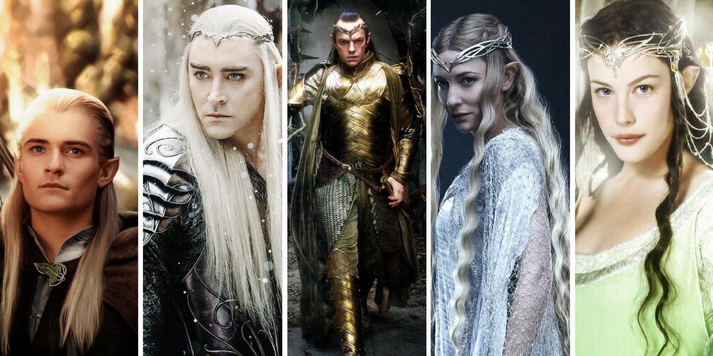 Elves Legolas Arwen Galadriel Elrdon Thandruil