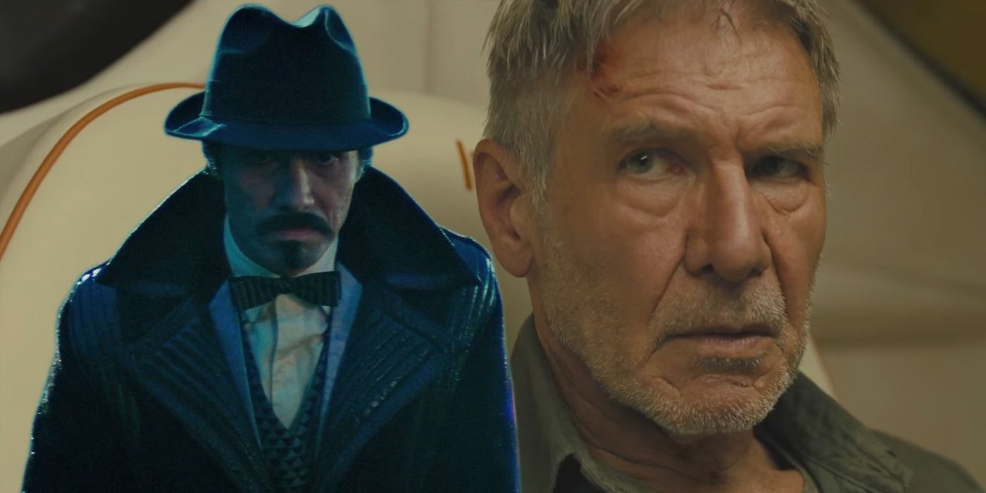 Gaff and Deckard from Blade Runner and 2049