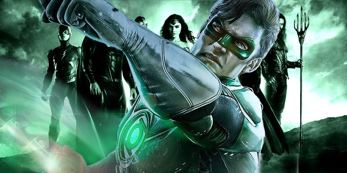 Green Lantern Logo in Justice League Contest | Screen Rant