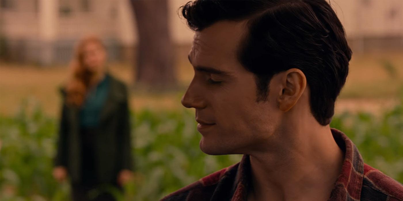 Henry Cavill Amy Adams Justice League Trailer