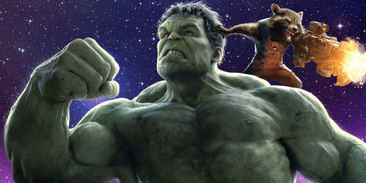 Resultado de imagen para hulk y rocket raccoon