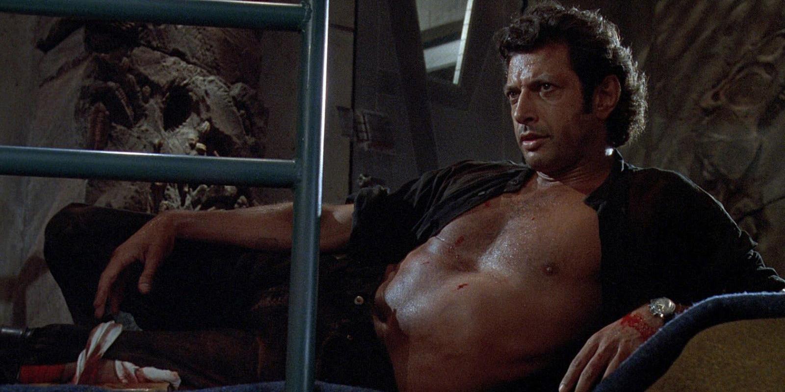 Jurassic Park Funko Figures Include Shirtless Goldblum