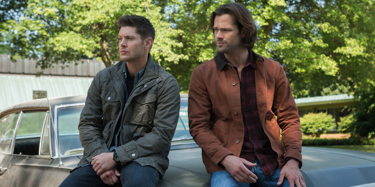 Jensen Ackles and Jared Padalecki in Supernatural Season 13