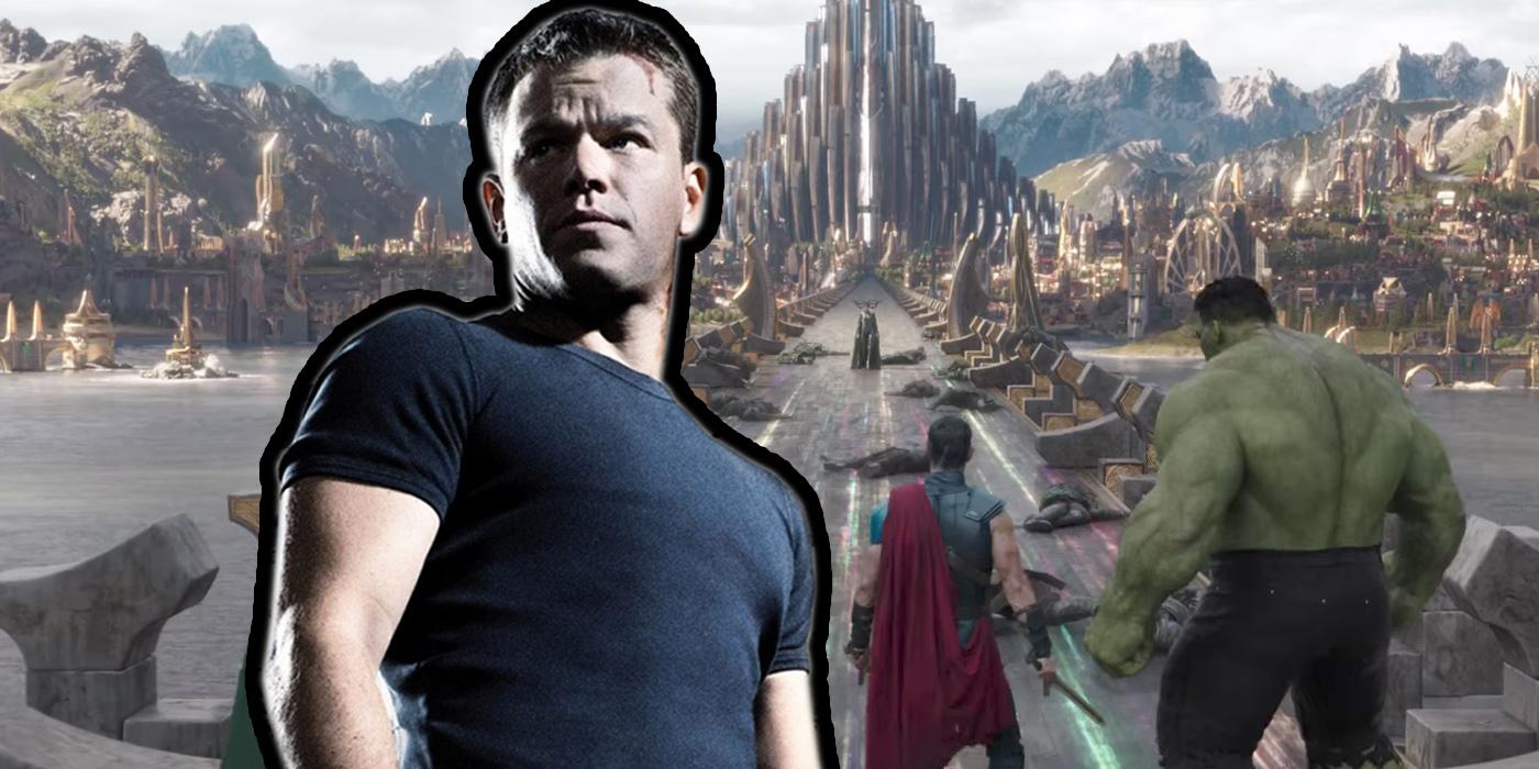 Matt Damon's Thor: Rag...