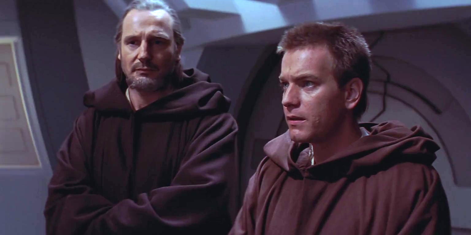 Qui-Gon Jinn and Obi-Wan