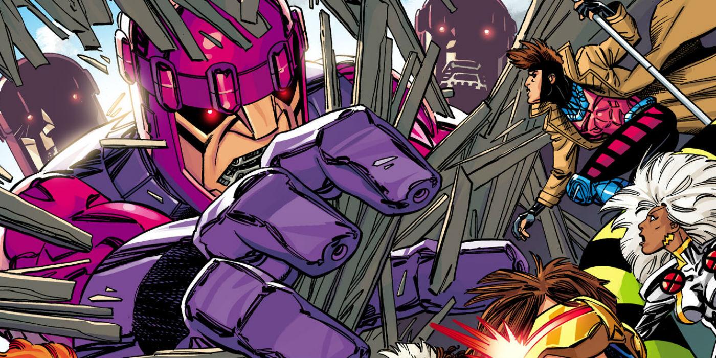 Sentinel vs X-Men