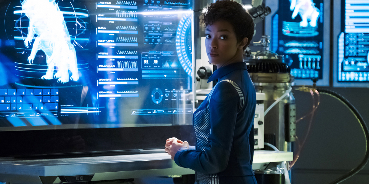 Sonequa Martin-Green in Star Trek Discovery