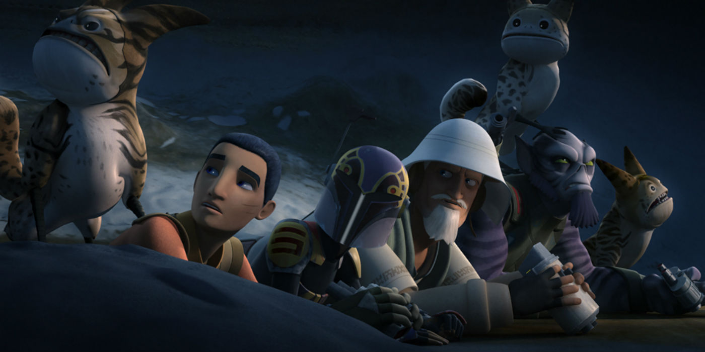 Star Wars Rebels Heed The Loth Wolf S Warning Screen Rant