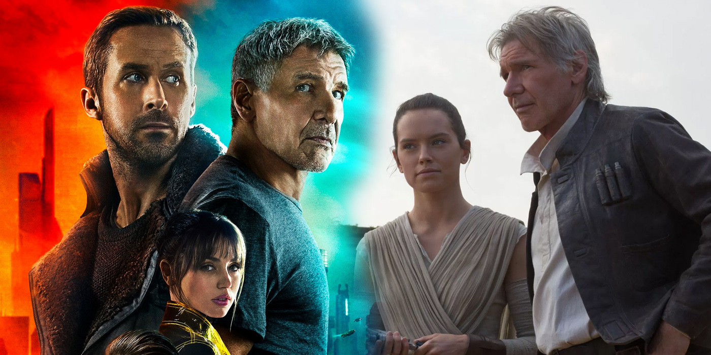 Star Wars The Force Awakens and Blade Runner 2049