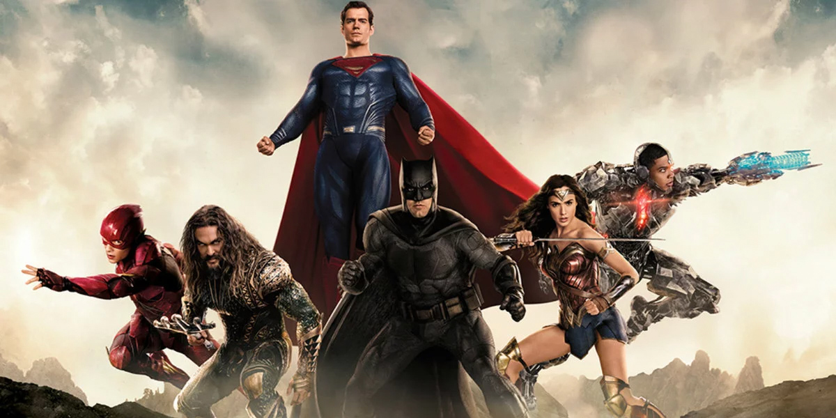 The Justice League with Superman