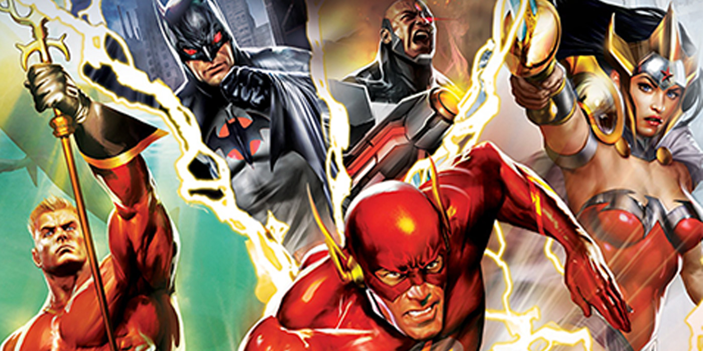 Justice League Flashpoint Paradox Animated Movie