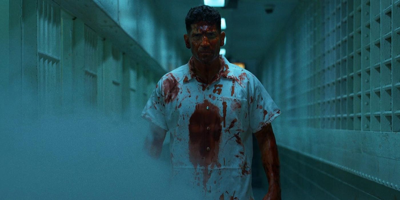 Punisher Jon Bernthal Daredevil Prison Fight Scene