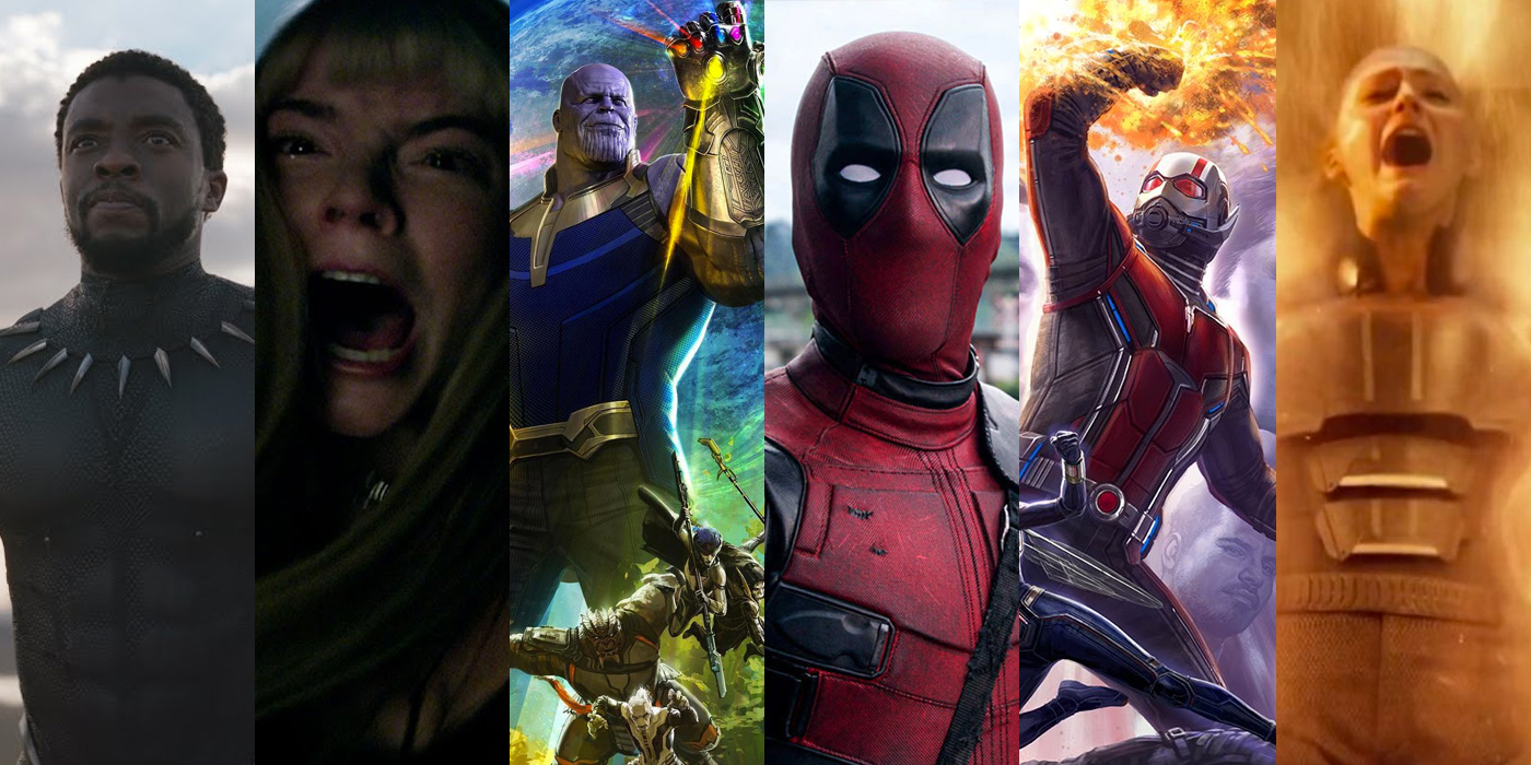 2018 Marvel and Fox Films