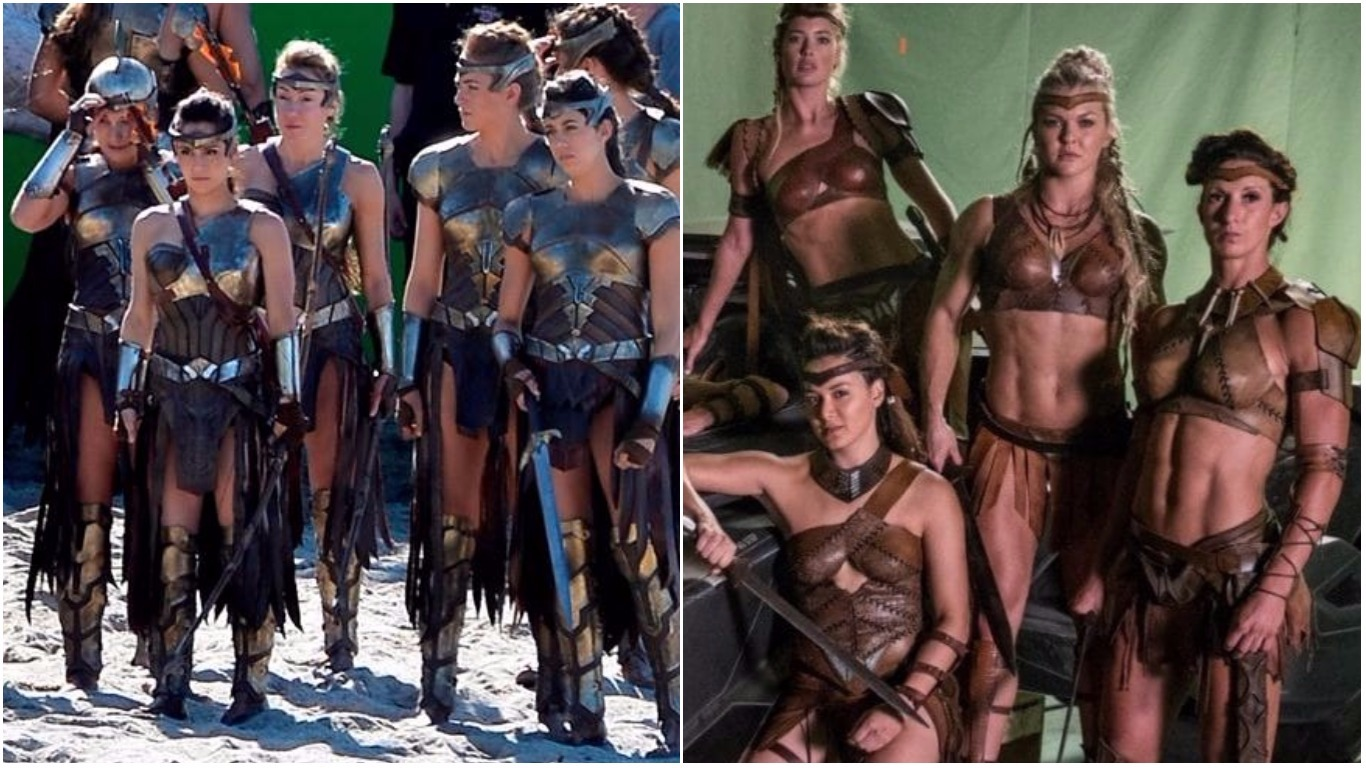 Justice League's Amazon costumes
