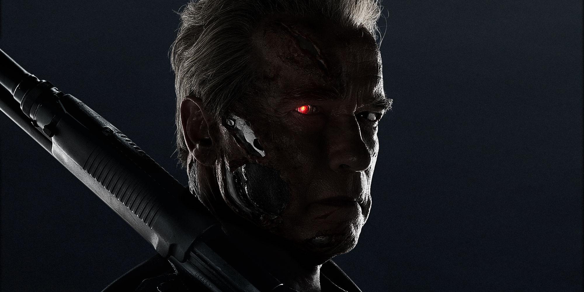 Arnold Schwarzenegger Terminator Genisys Poster