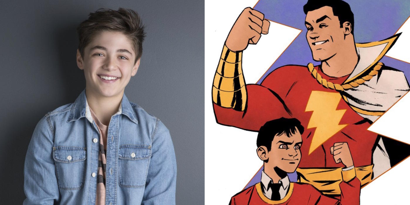 Asher Angel as Billy Batson in Shazam Shazam Movie Trailer, Cast, Every Update You Need To Know
