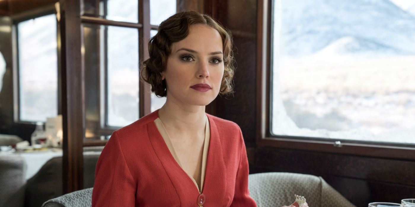 Daisy Ridley in Murder on the Orient Express (photo: 20th Century Fox)