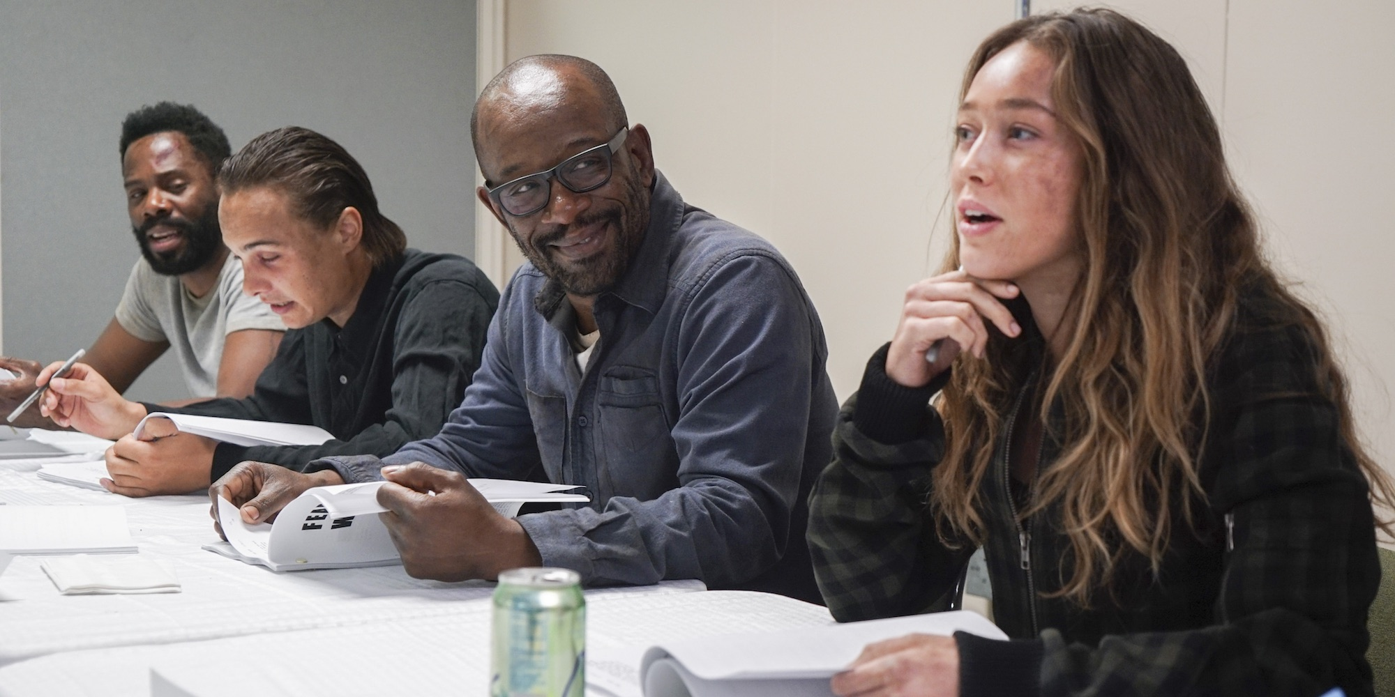 Image result for lennie james on fear the walking dead