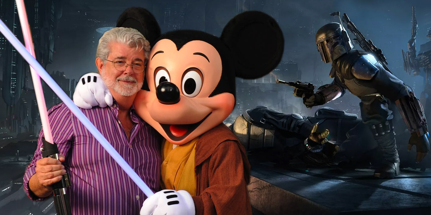 George Lucas Mickey Mouse and Star Wars 1313