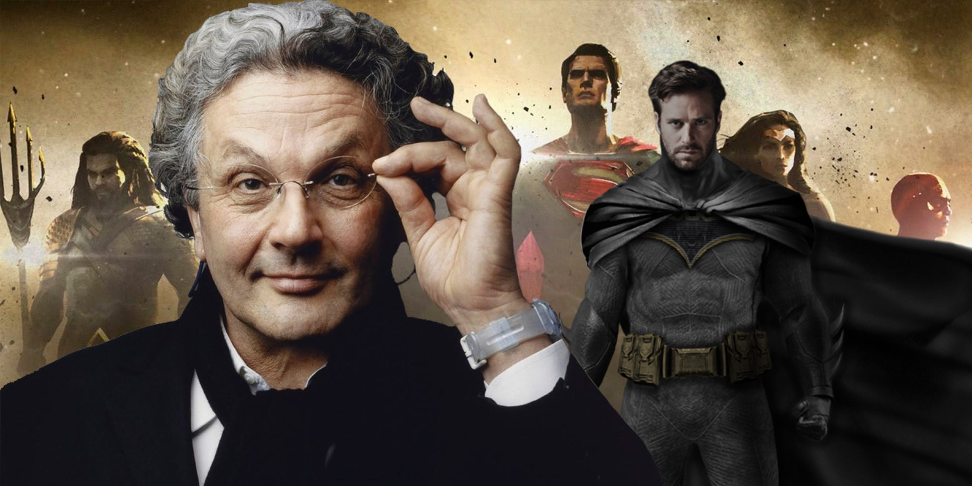 George Miller and the Justice League with Armie Hammer as Batman