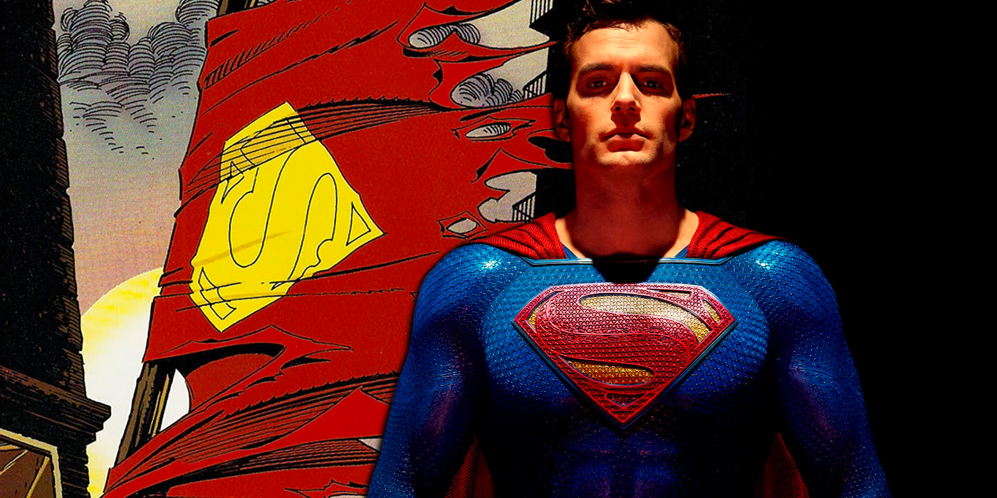 Henry Cavill as Superman in Justice League and Death Cape