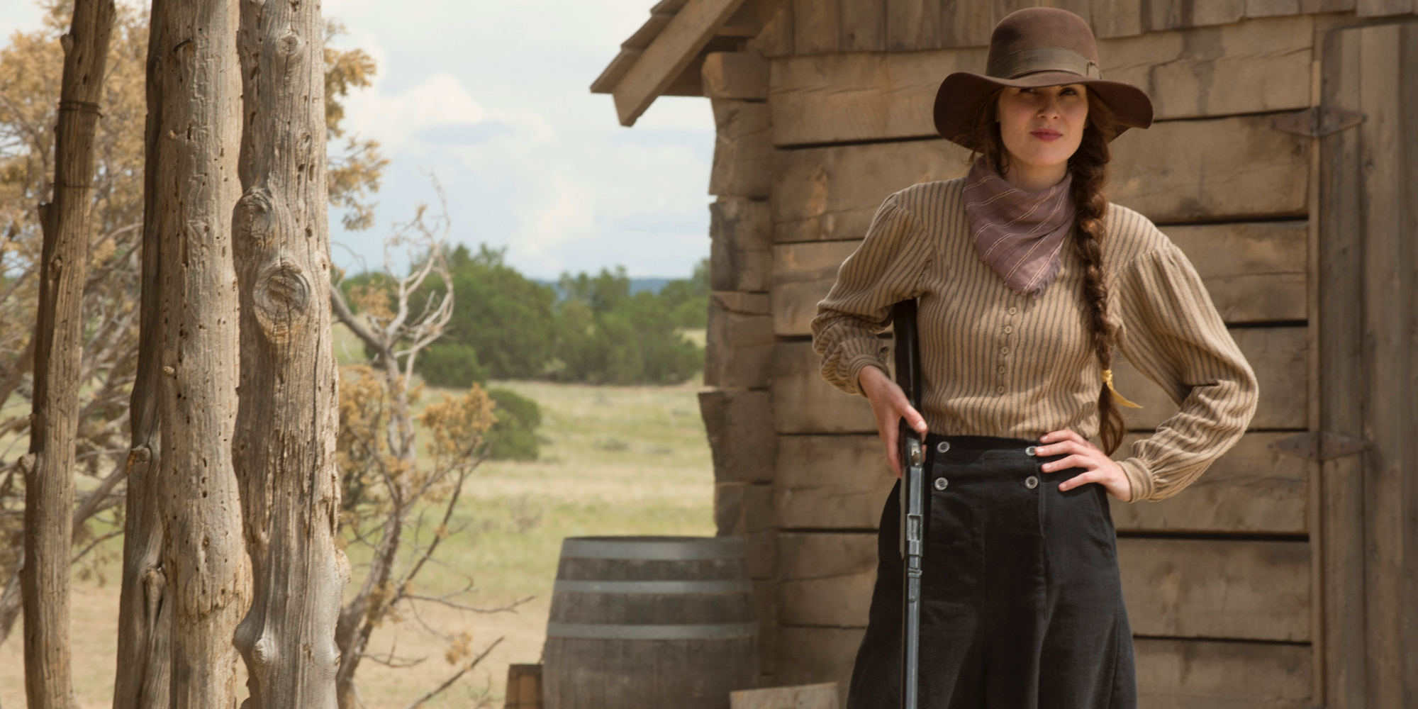 Michelle Dockery in Godless Netflix