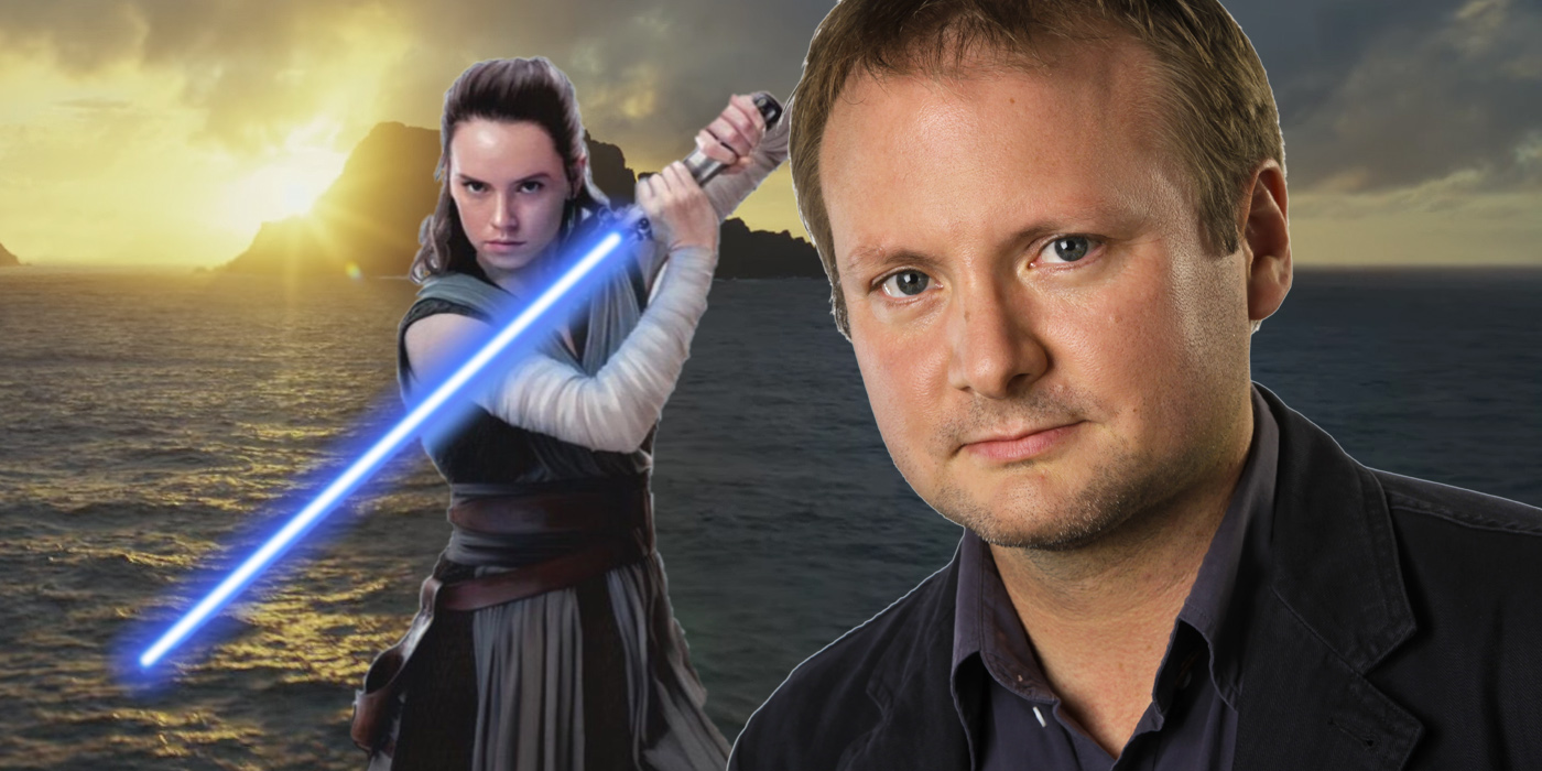 Rian Johnson and Rey