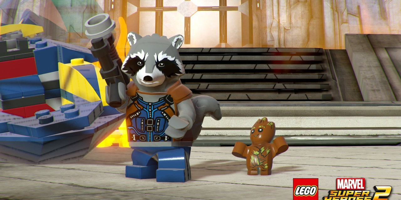 Rocket is Ready for Action in LEGO Marvel Super Heroes 2 Launch Trailer