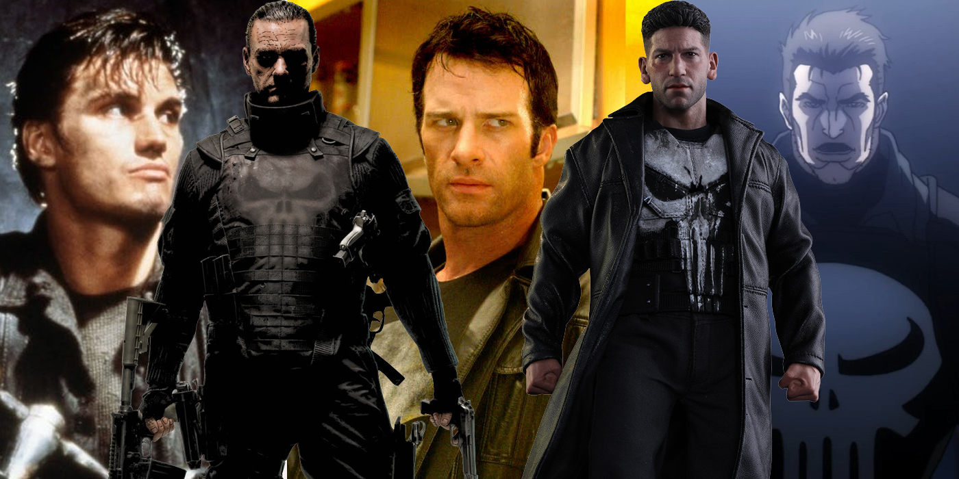 Every Version Of The Punisher, Ranked | Screen Rant