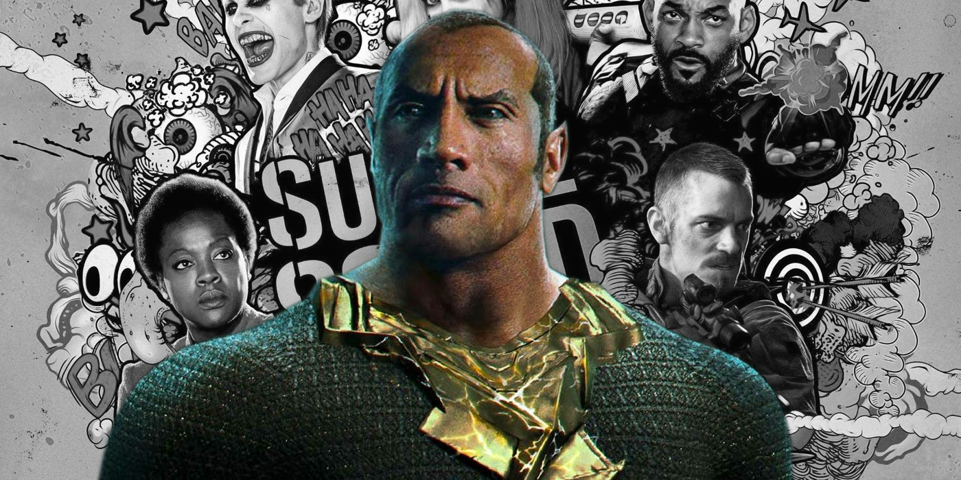 The Rock and Suicide Squad