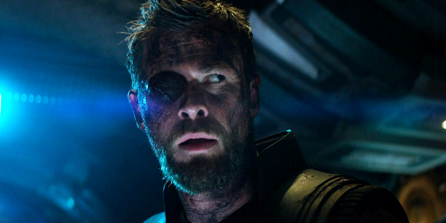 thor s eyepatch is cgi in avengers infinity war