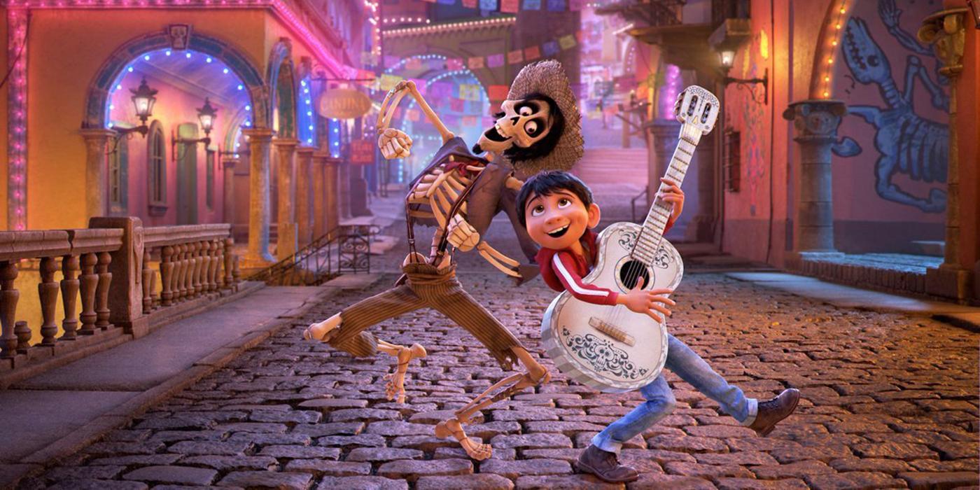 coco pixar singing guitar
