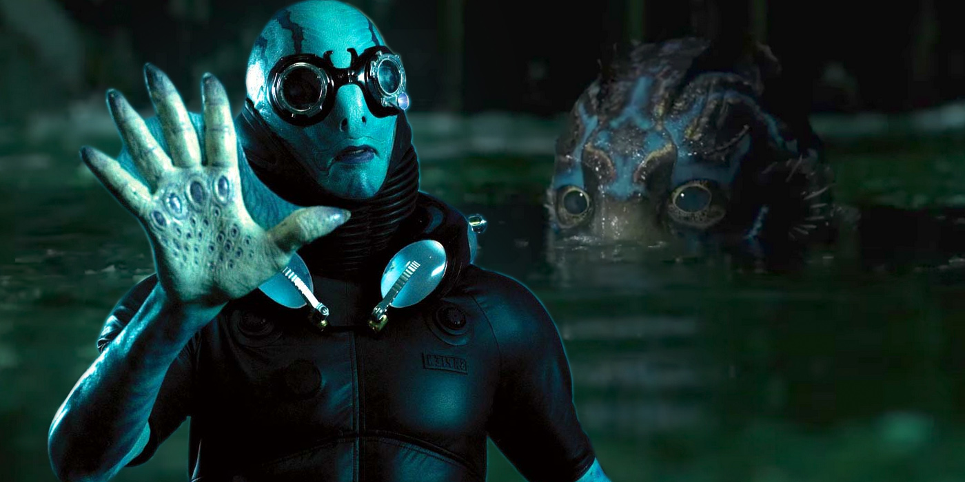 Abe Sapien in Hellboy and the Asset in Shape of Water