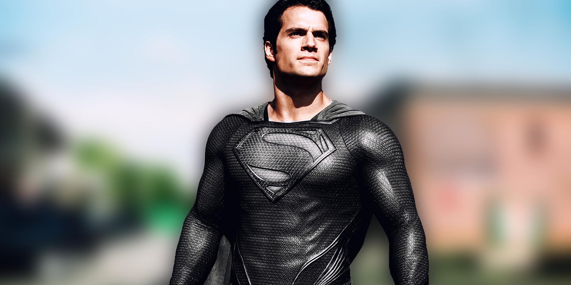 Justice League Deleted Scene Shows Superman's Black Costume  Justice League ...