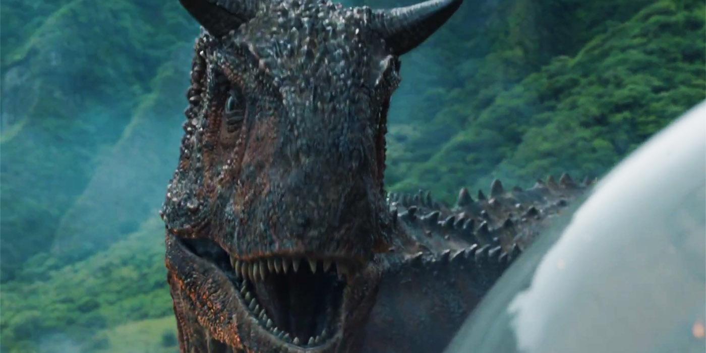 Carnotaurus in Jurassic World Fallen Kingdom