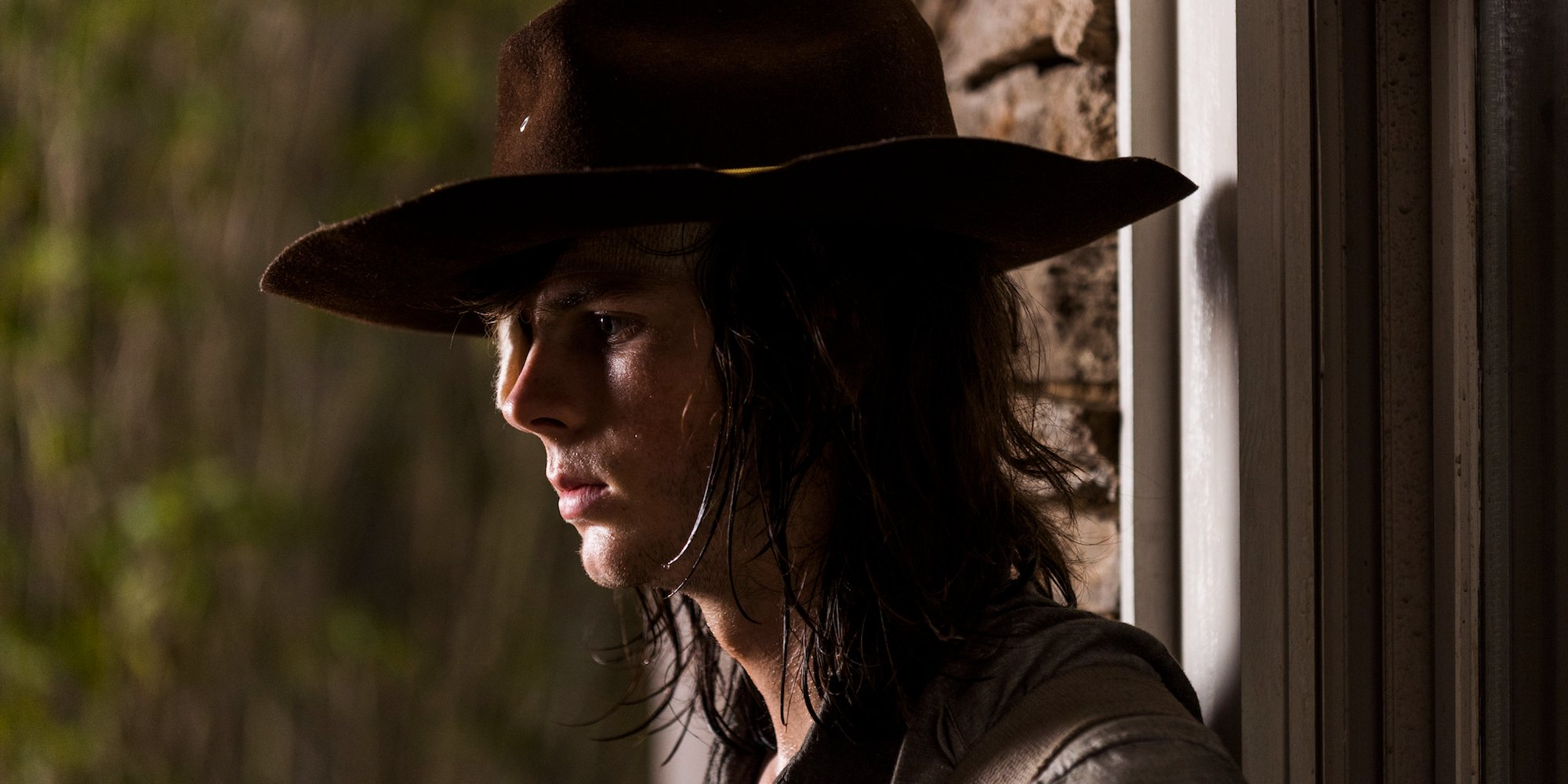 Chandler Riggs as Carl Grimes in The Walking Dead