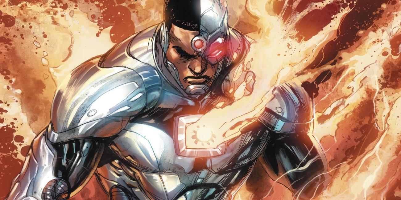 dcs cyborg gets a major metal upgrade screen rant