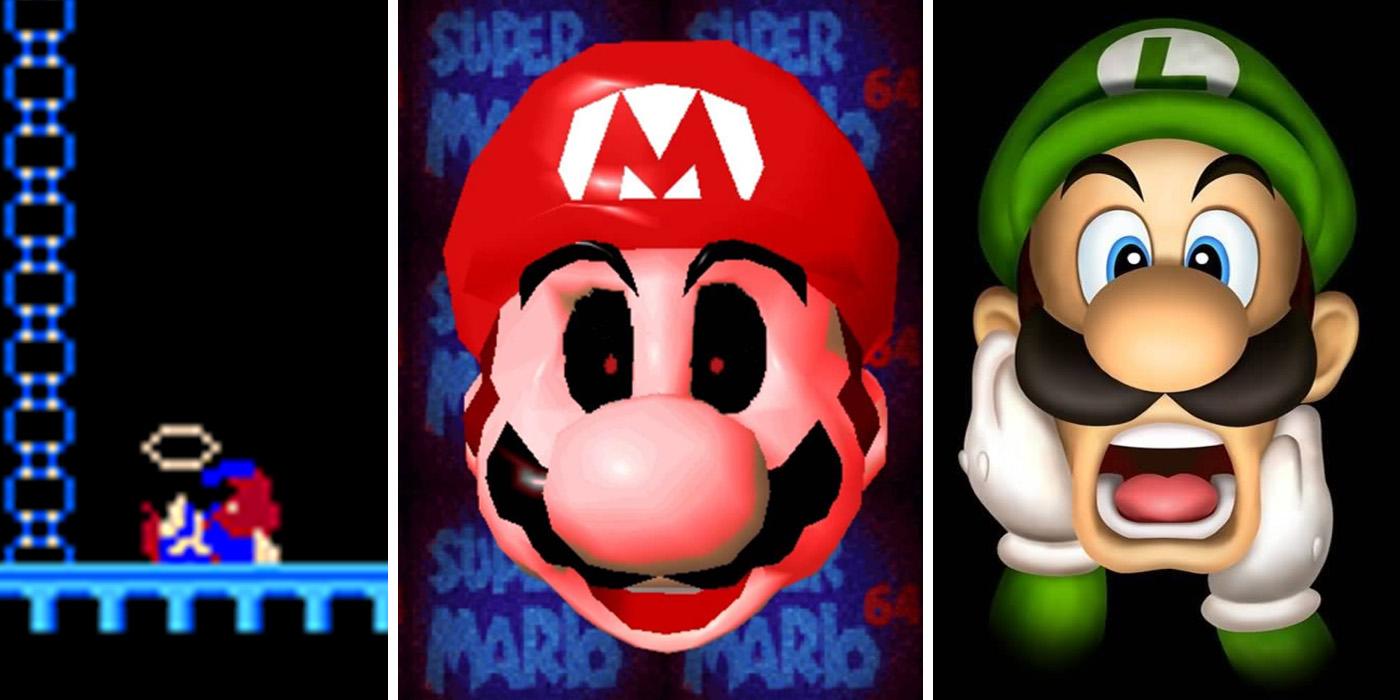 Dark Mario Theories