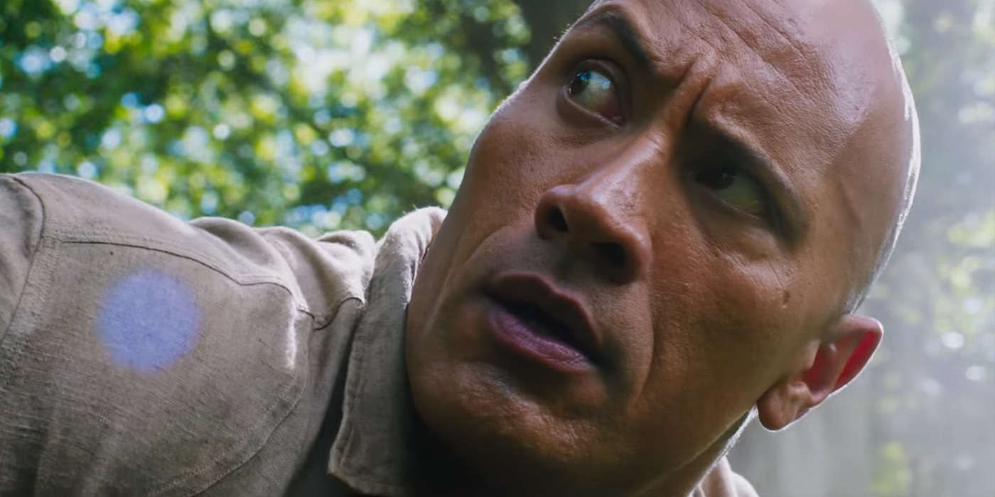 Dwayne Johnson in Jumanji 2 Welcome to the Jungle