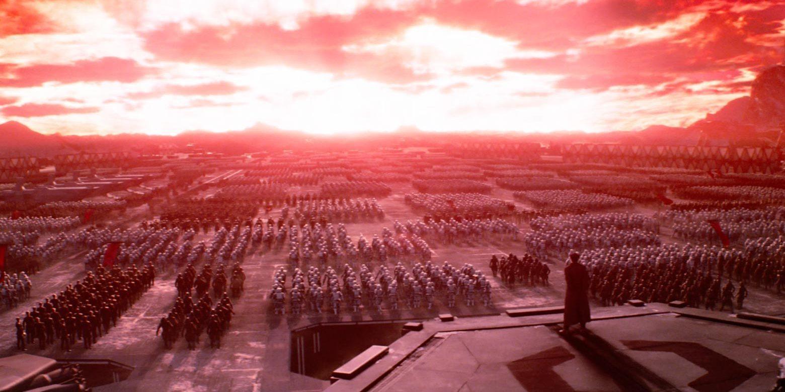 First Order Starkiller Base Fired