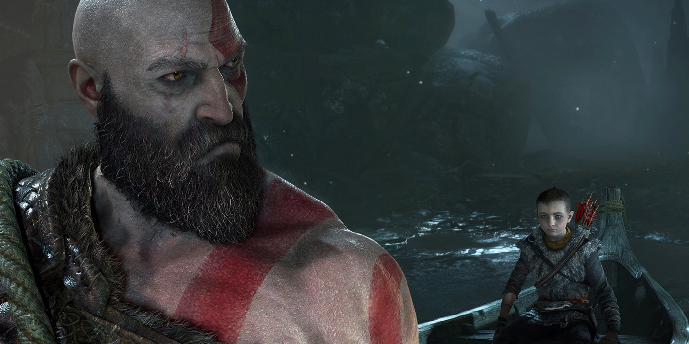 God of War - Kratos and son