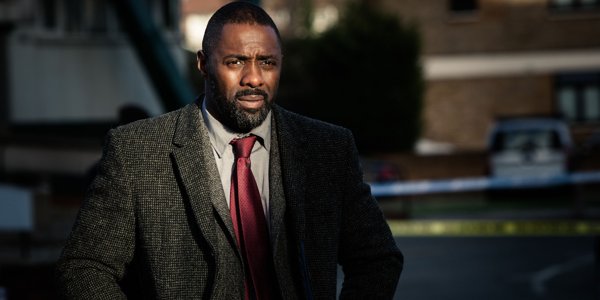 Idris Elba as DCI John Luther in Luther