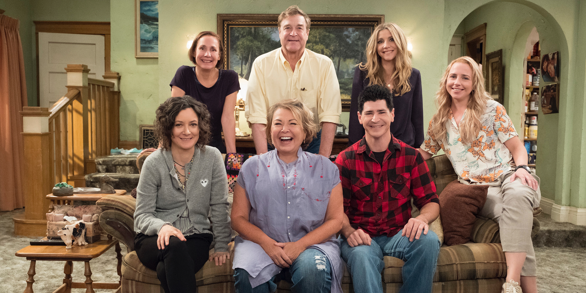 Roseanne Revival Cast Photo ABC